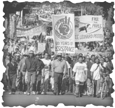 NATIVE AMERICAN MARCH TO WASHINGTON DCAmerican Indian Movement Trail Of Broken Treaties